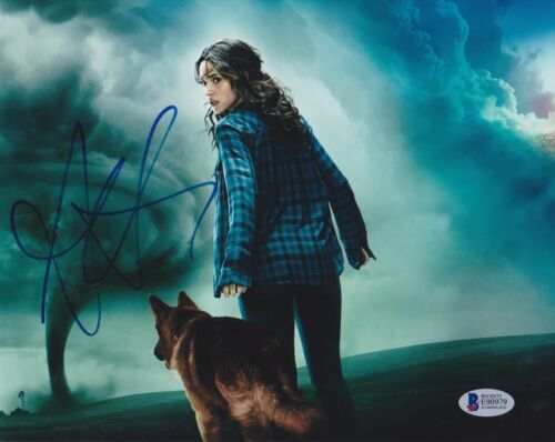 ADRIA ARJONA SIGNED 8X10 PHOTO EMERALD CITY BECKETT BAS AUTOGRAPH AUTO COA B