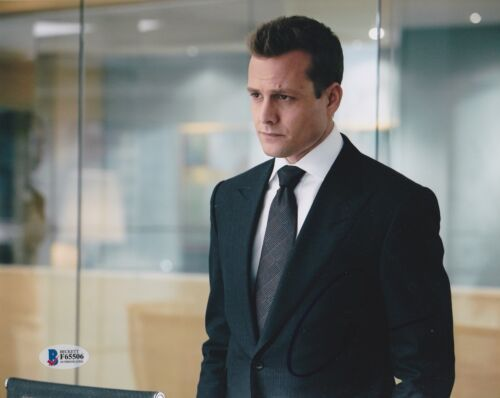 GABRIEL MACHT SIGNED 8X10 PHOTO SUITS BECKETT BAS AUTOGRAPH AUTO COA I