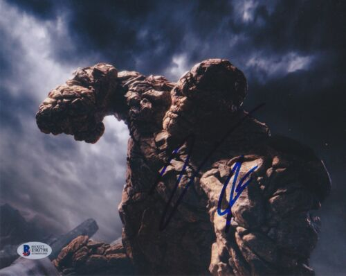 JAMIE BELL SIGNED 8X10 PHOTO FANTASTIC FOUR 4 BECKETT BAS AUTOGRAPH AUTO COA C