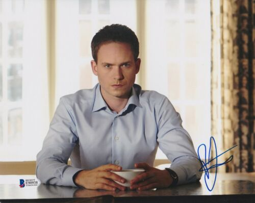 PATRICK J ADAMS SIGNED 8X10 PHOTO SUITS BECKETT BAS AUTOGRAPH AUTO COA C
