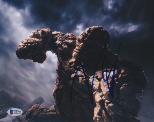 JAMIE BELL SIGNED 8X10 PHOTO FANTASTIC FOUR 4 BECKETT BAS AUTOGRAPH AUTO COA B