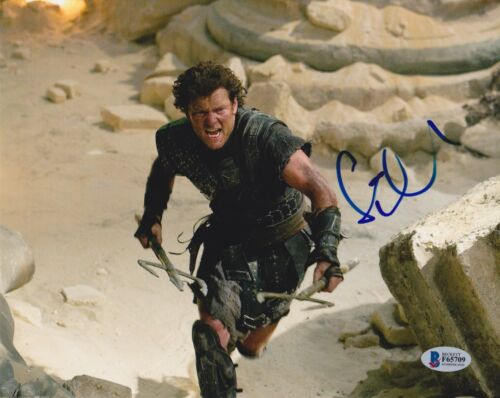 SAM WORTHINGTON SIGNED 8X10 PHOTO CLASH TITANS AVATAR BECKETT BAS AUTOGRAPH AUTO