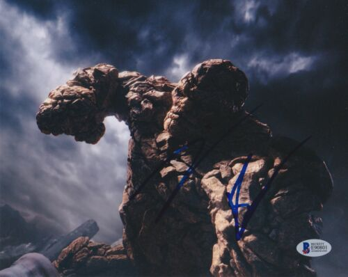 JAMIE BELL SIGNED 8X10 PHOTO FANTASTIC FOUR 4 BECKETT BAS AUTOGRAPH AUTO COA K