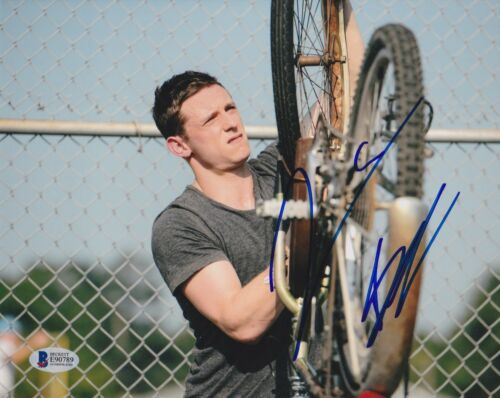 JAMIE BELL SIGNED 8X10 PHOTO FANTASTIC FOUR 4 BECKETT BAS AUTOGRAPH AUTO COA I