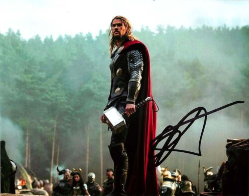 Chris Hemsworth Signed 8x10 Thor Photo C Proof COA Ragnarok Avengers Endgame