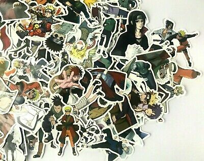 100 Lot Anime Naruto Characters Laptop Wall PS XBOX Notebook Decal Sticker Pack  for sale  Shipping to Nigeria