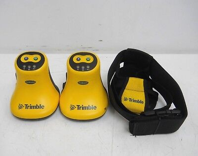 Lot Of 2 Trimble Geobeacon Gps Gis Survey Receiver 54970-00