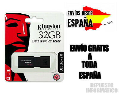 Pendrive 32GB Kingston DataTraveler USB 3.0 DT100G3 segunda mano  Alcorcón