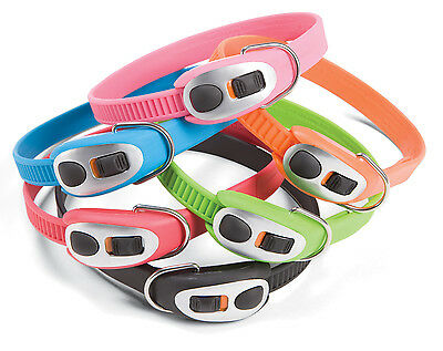 Staywell Dog Collar (BRIGHT COLLARS! NEW STAYWELL CINCH-IT EASY CLICK SET ADJUSTABLE DOG COLLAR )