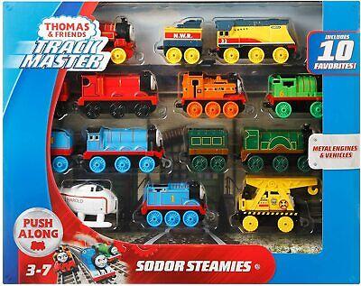 Thomas & Friends Trackmaster *SODOR STEAMIES* Train Engine Set of 10 GFF07 NEW!