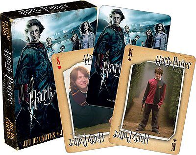 Harry Potter Goblet of Fire set of 52 playing cards (+ jokers) (nm 52418)