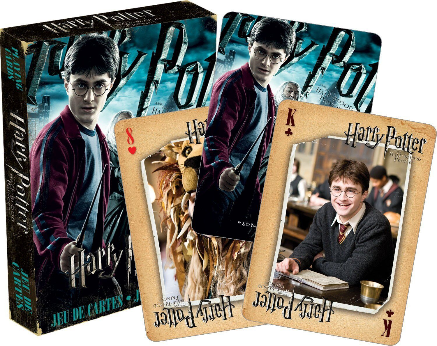 Harry Potter Half Blood Prince Set Of 52 Playing Cards Jokers
