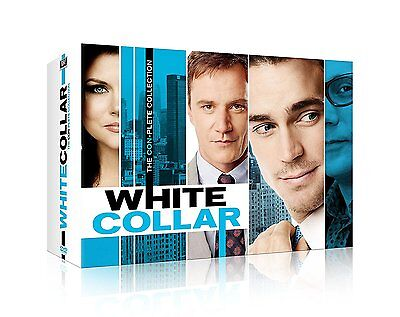 White Collar:Con-Plete/Complete Series Collection(DVD,Season 1-6,22-Disc Set)NEW