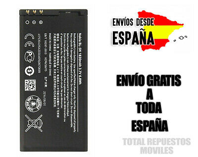 Bateria Movil Nokia BL-5H Lumia 630 Lumia 635 1830mAh 100% ORIGINAL NUEVO