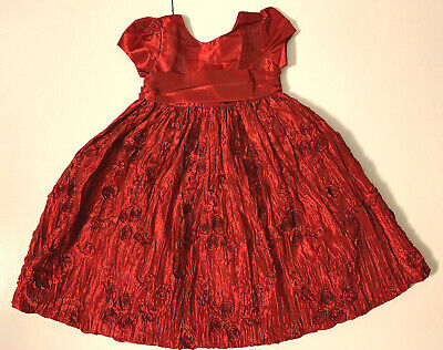 Cinderella Princess Wedding Party Prom Birthday Dress Skirt Tutu Dress Size 3T.