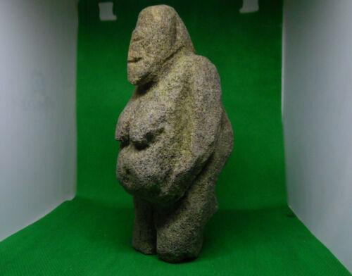 Stone Idol of Vikings (Goddess of Fertility). Paleolithic