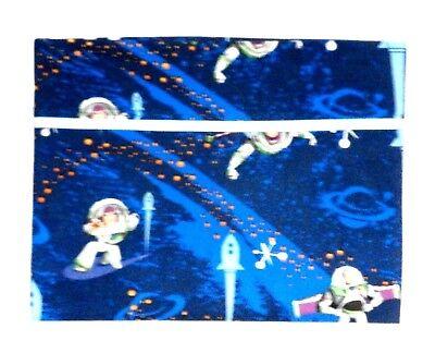 Baby Buzz Lightyear (Buzz Light year Toddler Pillowcase on Blue Cotton BL8-14 New Handmade)