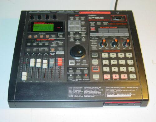 ROLAND Groove sampler SP-808 - Drum Machine Sequencer Multi Track Recorder Mixer