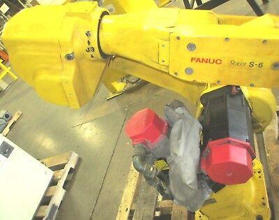 Fanuc S-6 Robot 6 Axis Type A05b 1207 B652 Fanuc Robot S-6
