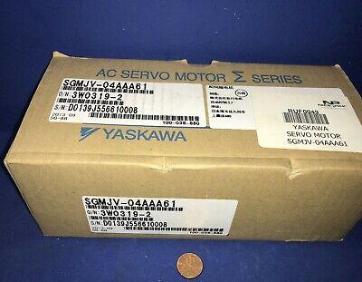 Yaskawa Sgmjv-04aaa61 Servo Motor