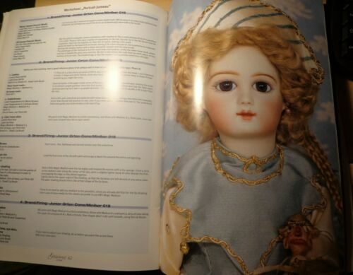 GILDEBRIEF MAGAZINE Antique Reproduction Doll Makers Vol 16 No 2 Dress 1999
