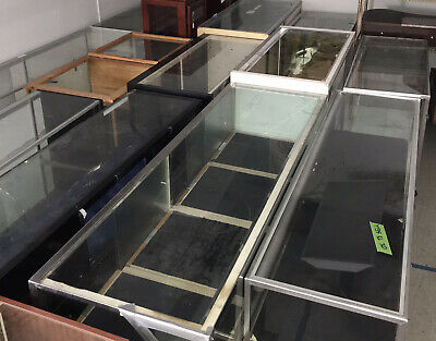 Blowout Special1 Glass Showcases Counter Display Electronics Jewelry Store Cases