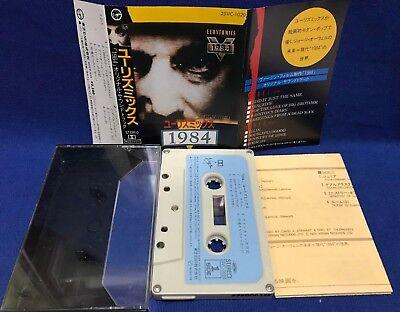 Eurythmics 1984 Japan Cassette Tape 25VC-1020 Original Soundtrack Annie Lennox