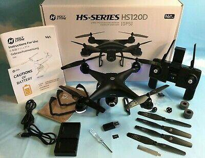 Holy Stone HS120D GPS Drone 1080p Adjustable FPV Camera Follow Me Headless Mode