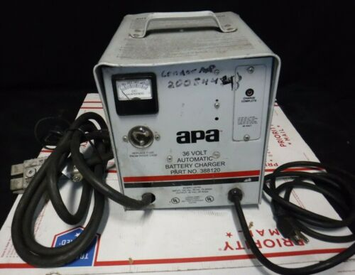 APA 36 Volt - 36 Amp Model 15765 Battery Charger #388120