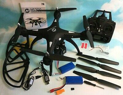Holy Stone HS300 Quadcopter 120° Wide-Angle HD Camera Altitude Hold 2 Batteries