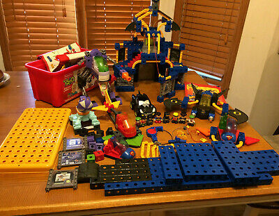 100's Pieces Fisher Price TRIO Batman Joker Robin Superman Vehicles Penguin Cars