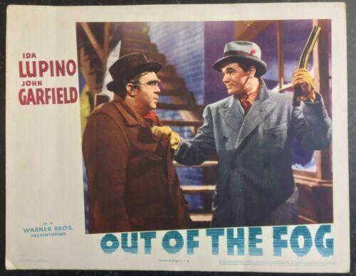 OUT OF THE FOG 1941 Original 11x14 US Lobby Card JOHN GARFIELD, IDA LUPINO #3