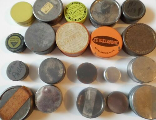 20 Containers Watchmakers TINS of a Watchmaker Travels Lot# Q51