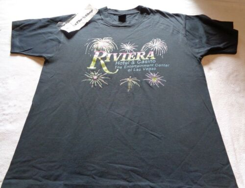 Vintage Riviera Hotel Casino The Entertainment Center of Las Vegas Shirt size XL
