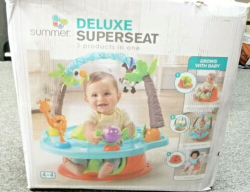 USED Summer 3-Stage Deluxe SuperSeat, Wild Safari