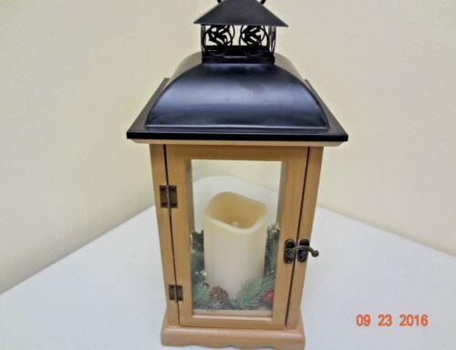 Decorative Lantern w/ Flickering LED Candle 966560