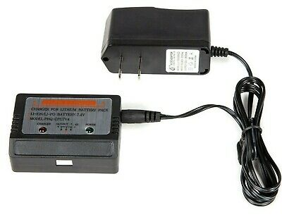 7.4v LiPo Battery Charger 100-240V for RC Batteries Trucks Boats Cars Drone MP3