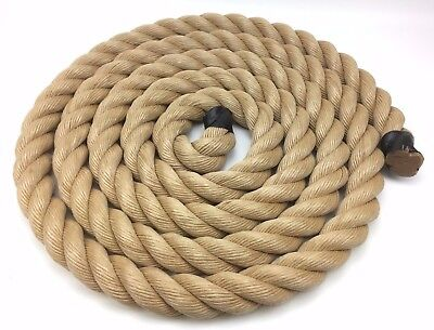 50mm Synthetic Manila x 4 Metres, Manila For Decking, Garden & Boating, Rope