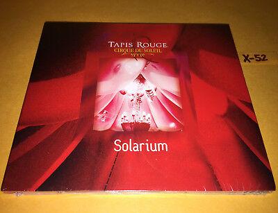 TAPIS ROUGE Cirque Du Soleil SOLARIUM Soundtrack CD Musique OMBRA AFRICA GAMELAN - $14.99