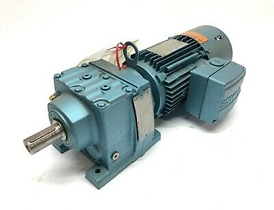 Sew Eurodrive 1 Hp Motor And 19.311 Ratio Gear Reducer 88 Rpm Output