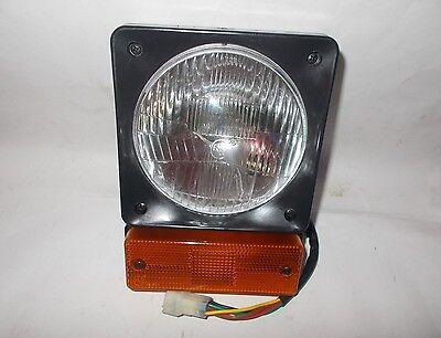 New Jcb Loadall Fastrac Front Headlight Head Lamp Indicator Assembly Unit