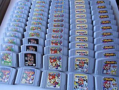 Options  Nintendo 64 N64 Games Systems Mario Party 1 2 3 Super Smash Kart Zelda