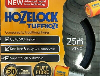 HOZELOCK Tuffhoze A NEW advanced hybrid garden hose (MMCS)