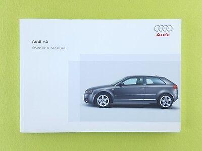 AUDI A3 (2003 - 2005) Owners Manual / Handbook
