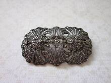 Antique Edwardian silver & marcasite brooch c1910 New Lambton Newcastle Area Preview