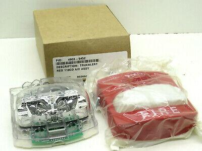 Simplex 4903-9452 Truealert Audible Red Fire Alarm Hornstrobe 0626608