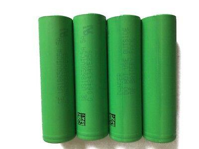 4 x Sony Li-Ionen Akku | US 18650 VTC5A | 3,7V 2600mAh 35A | f. e-Zigaretten
