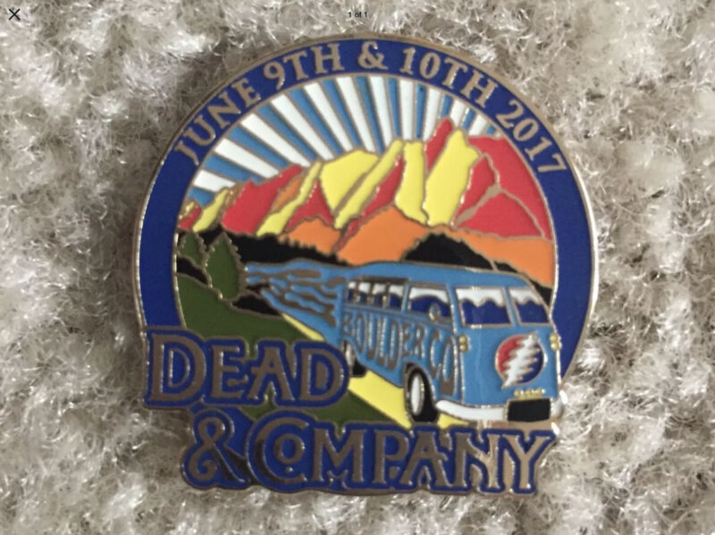 2017 Dead and Company 2017 Pin Boulder. Co. Free Shipping