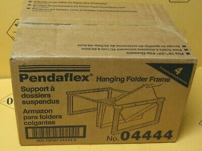 Pendaflex 04444 Hanging Folder Frames Legalletter 4 Per Box New