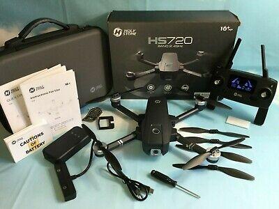 Holy Stone HS720 Foldable GPS Drone 2K FHD Camera Brushless Motors Follow Me RTF
